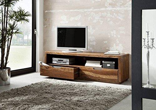 Bois de sheesham massif laqué meuble tV en bois massif de noyer massivmöbel duke - 114