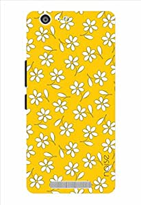 Noise Yellow Jasmine Printed Cover for Gionee Marathon M5