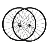 超軽量1390±20g!700C カーボンファイバーバイクホイールセット 20mm クリンチャー式