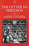 The Letter to Philemon (The Anchor Yale Bible Commentaries) (030014055X) by Fitzmyer, Joseph A.