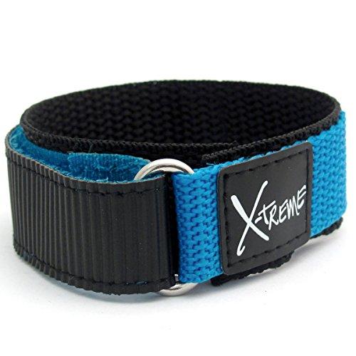 x-treme-tough-velcro-watch-strap-band-mens-gents-20mm-light-blue