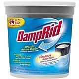 DampRid FG01K Refillable Moisture Absorber, Fragrance Free, 10.5-Ounce