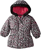 Pink Platinum Baby-Girls Infant Cheetah Puffer Jacket