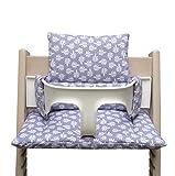 Blausberg Baby High Chair Cushion for Tripp Trapp Spring lilac