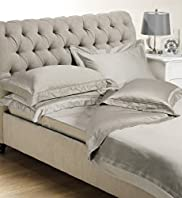 Autograph Supima Plain Dye Satin Duvet Cover