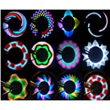 Colorful Rainbow 32 LED Wheel Signal Lights lamp for Bikes bicycles by coolshiny