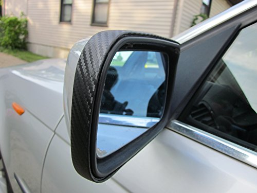 2 Piece Carbon Fiber Mirror Trim Molding Kit (Body Kit Toyota Corolla 2010 compare prices)