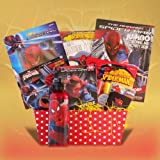Spiderman Easter Gift Baskets for Kids Full of Activities and Candies Perfect Easter Basket for Boys