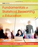 img - for Fundamentals of Statistical Reasoning in Education (Wiley/Jossey-Bass Education) book / textbook / text book