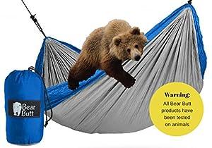 #1 Parachute Camping Double Hammock By Bear Butt *START UP COMPANY