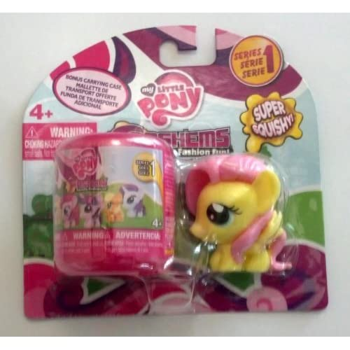 My Little Pony Fash'ems Fluttershy with Bonus Carrying Case by Hasbro