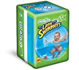 Huggies Little Swimmers Disposable Swim Diapers, Small, 12-Count - characters may vary - Size: Small