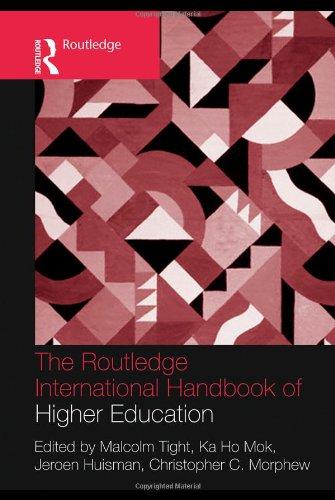 The Routledge International Handbook of Higher Education