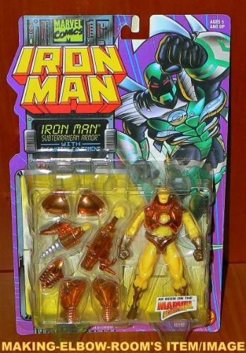 Toybiz Ironman Subterranean Armor Action Figure
