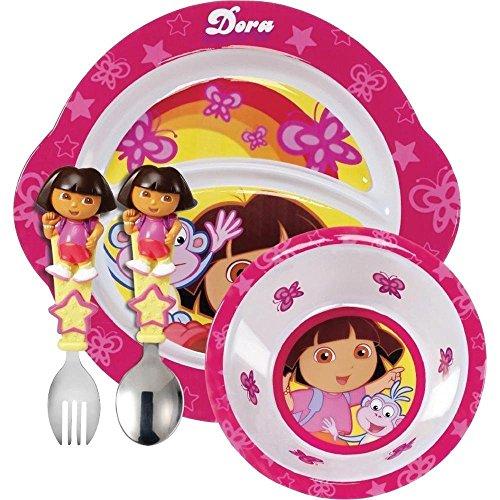 Munchkin Dora The Explorer Toddler Dining Set front-689067