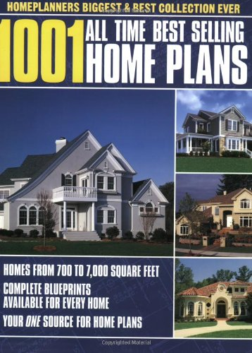 1001 All Time Best Selling Home Plans - Home Planners - 1881955672 - ISBN:1881955672