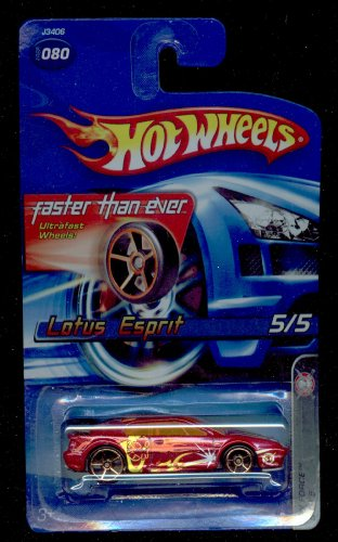 Hot Wheels 2006-080 Lotus Esprit 5/5 SPY Force First Edition 1:64 Scale - 1
