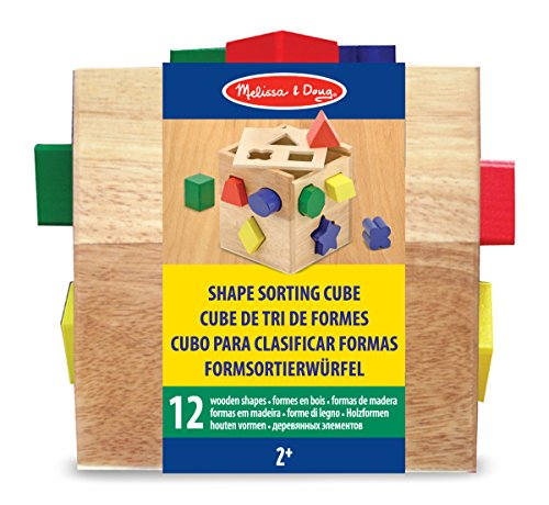 359462cc91bad Melissa and Doug Shape Sorting Cube Review