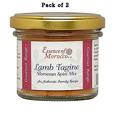 Lamb Tagine Moroccan Spice Mix 100 g (Pack of 2 x 50 g jars)