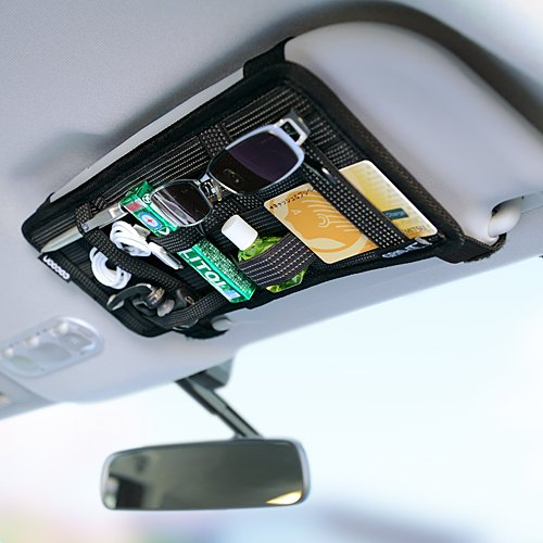 Amazon.co.jp: Cocoon ガジェット&デジモノアクセサリ固定ツール 「GRID-IT! 」 サンバイザーケース 車の中の小物をすっきり整理! ブラック CPG30BK: 家電・カメラ