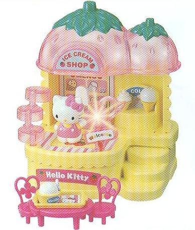 Sanrio Strawberry Hello Kitty Ice Cream Shop  Great Holiday Gift!