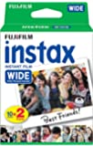 Fujifilm Instax Wide Gloss Instant Film Suitable for Fujifilm Instax 210 Camera (Pack of 2 x10 Shots)