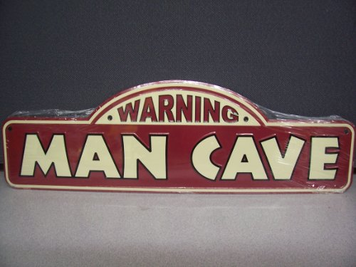 Personalized Man Cave Signs Free Shipping : Dc embossed metal warning man cave street sign new