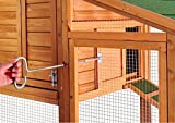 【NEW PRODUCT PROMOTIN】Merax Chicken Coop Wooden House Cage for Small Animals Hen Coop Nesting box (Chicken Coop#1)