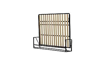 Mécanismes de Lit Mural / Lit Escamotable / Lit Rabattable Horizontal 200cm x 160cm Wallbedking Classic