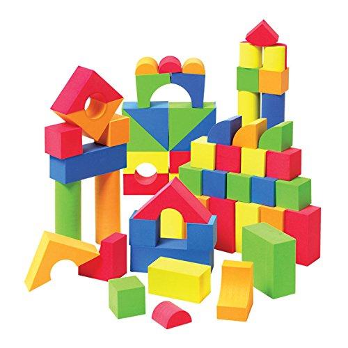 Liberty imports creative educational eva foam building for Foam block construction house plans