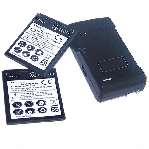 , GT-I9500 ,SGH-I337 Li-ion Replacement Batteries with Travel Charger