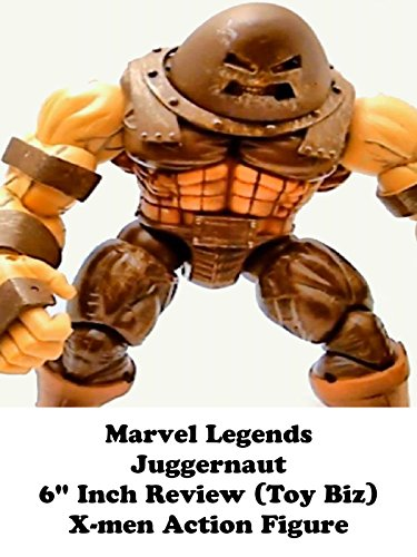 "Marvel Legends JUGGERNAUT 6"" inch Review (Toy Biz) X-men action figure on Amazon Prime Video UK"