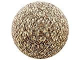 65cm Exercise Ball Cover, yoga ball cover, balance ball cover, birthing ball cover, 100% cotton - Tan Chevron