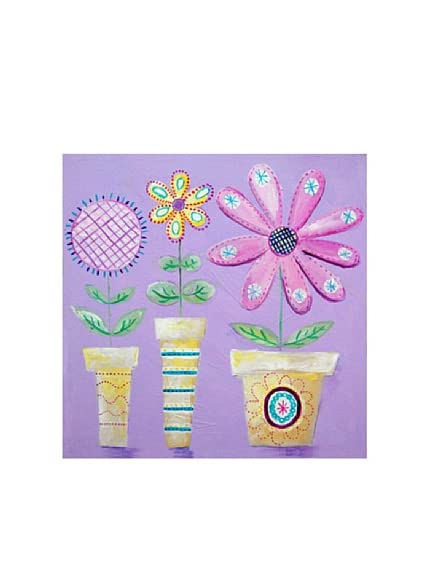 Cici Art Factory How Does Your Garden Grow 1, 12&#8243;x 12&#8243;