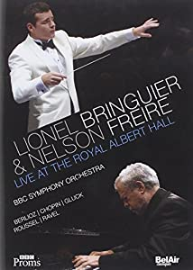 Lionel Bringuier & Nelson Freire Live at the Royal Albert Hall (BBC Symphony Orchestra) [DVD] [2013] [NTSC]