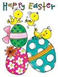 Eggs & Chicks Happy Easter Card Pack x 5