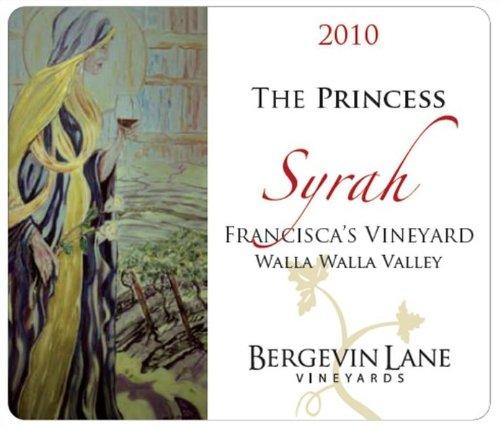 "2010 Bergevin Lane Vineyards ""Princess"" Walla Walla Valley Syrah 750 Ml"
