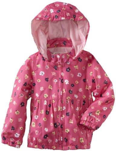 Osh Kosh Girls 2-6X Toddler Printed Midweight Trans Jacket, Pink, 3T