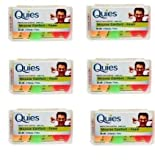 Quies Foam Ear Plugs 3 Pairs-PACK OF 6