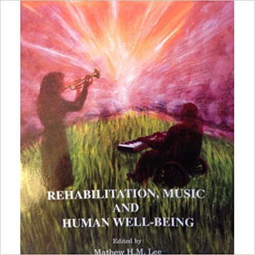 Book cover: rehabilitation, music and human well-being