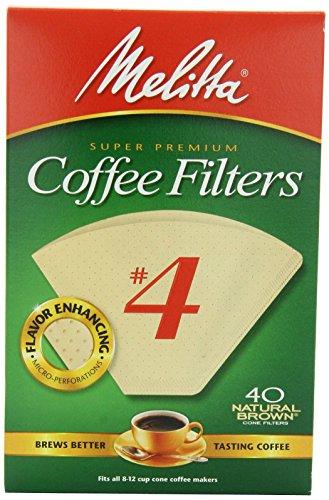 No. 4 Cone Coffee Filter in White (40 count) (Cone Coffee Filters White compare prices)