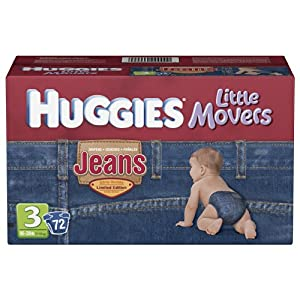 Huggies Little Movers Jean Diapers