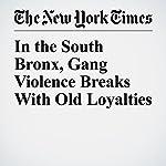 In the South Bronx, Gang Violence Breaks With Old Loyalties | Benjamin Mueller,Noah Remnick,Al Baker