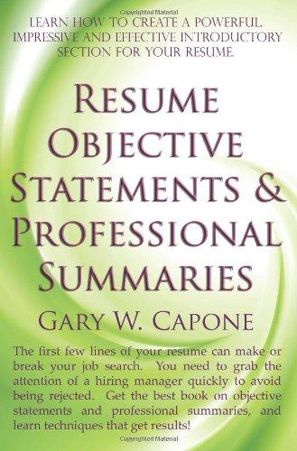 best career objective