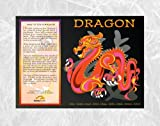Asian-Oriental-Chinese-Zodiac-Poster-24-x-36-All-12-Animals