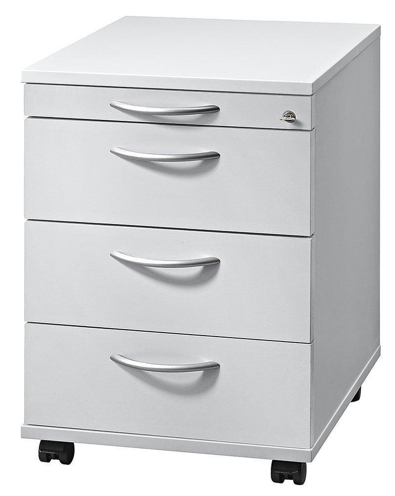 Container Solid Ausführung (Korpus / Front) Grau, Grifftyp Bogengriff Metall  Kundenbewertung und weitere Informationen