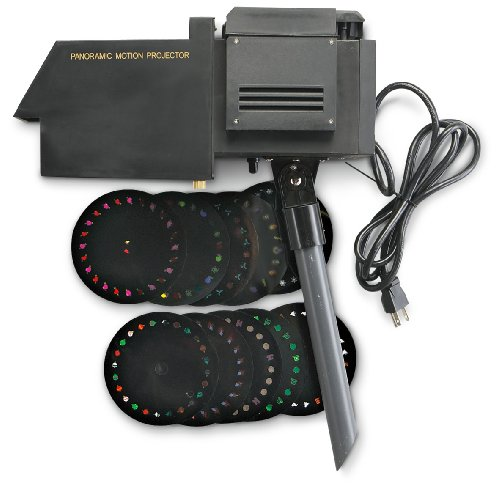 Panoramic Holiday Motion Projector
