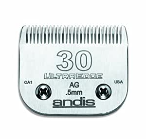 Andis Pet UltraEdge Chrome finish Blade #30- Clipper Blade (64075)