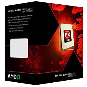 AMD CPU FX-9370 Black Edition Octa Core CPU (Retail, Socket AM3+, 4.70GHz, 8MB, 220W)