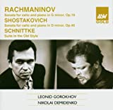 Leonid Gorokhov Russian Cello Works